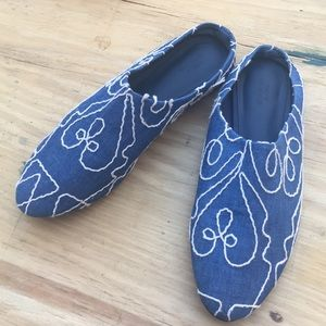 Urban Outfitters Slip-On Flats Shoes Fabric